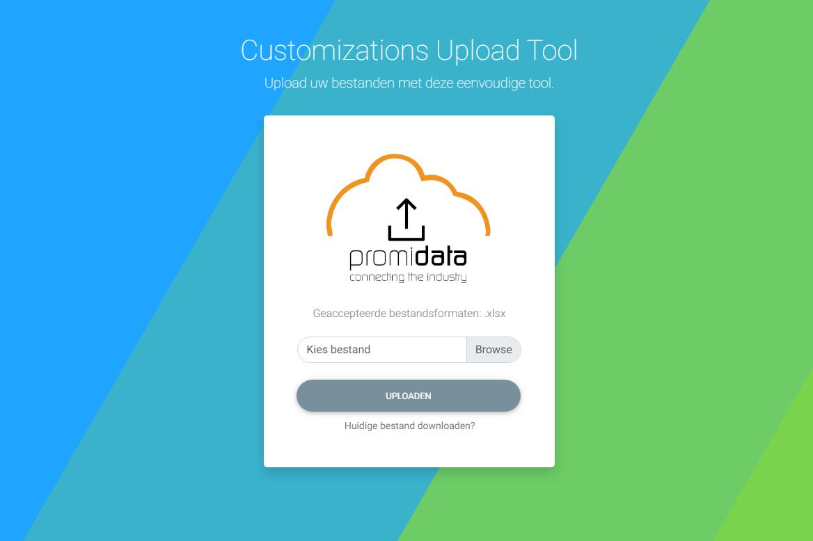 Customizations Upload Tool